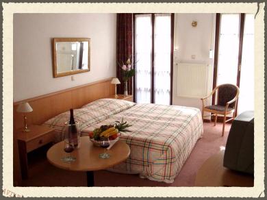 Doppelzimmer Hotels altes Haus Rüdesheim-Assmannshausen